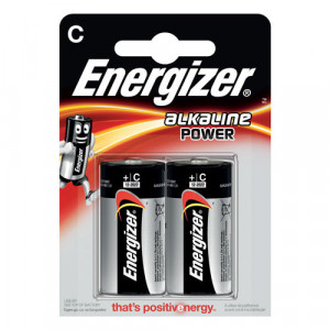 2 batterie c energizer 1.5v
