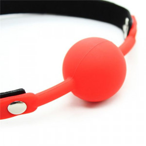 Morso ball gag red - 2